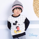 Disney 米奇系列復古配色圓領上衣 (共2色)
