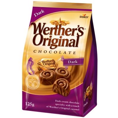 道地的偉特-巧克力-黑巧克力口味-125g