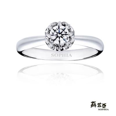 【蘇菲亞 SOPHIA】週年紀念ANNIVERSARY 0.50克拉戒指