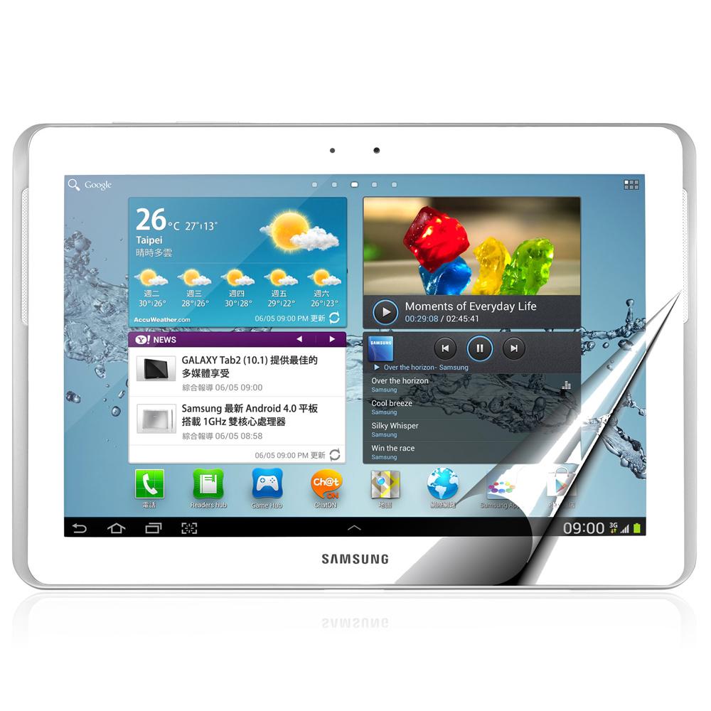 Cooyee Samsung Galaxy Tab2 10.1吋亮面保護貼