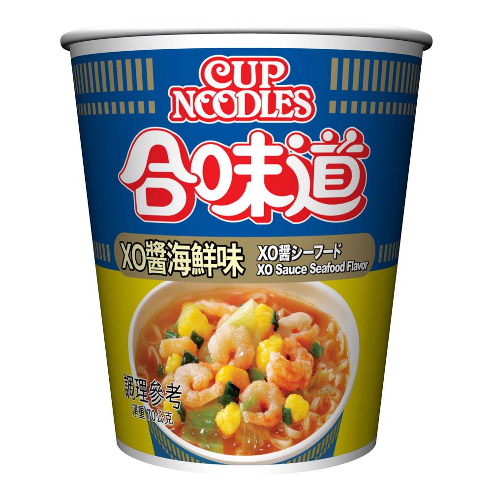 日清 合味道XO醬海鮮味杯麵(70g)