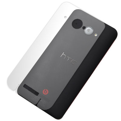 HTC Butterfly 蝴蝶機 X920D 超透超顯影機身背膜(2入)