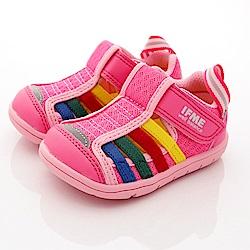 IFME健康機能鞋 排水鞋款 SE01723粉(寶寶段)
