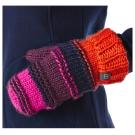 【Berghaus貝豪斯】女款保暖毛線手套H46F02-橘粉