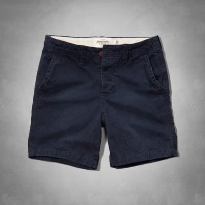 AF a&f Abercrombie & Fitch 短褲 深藍色