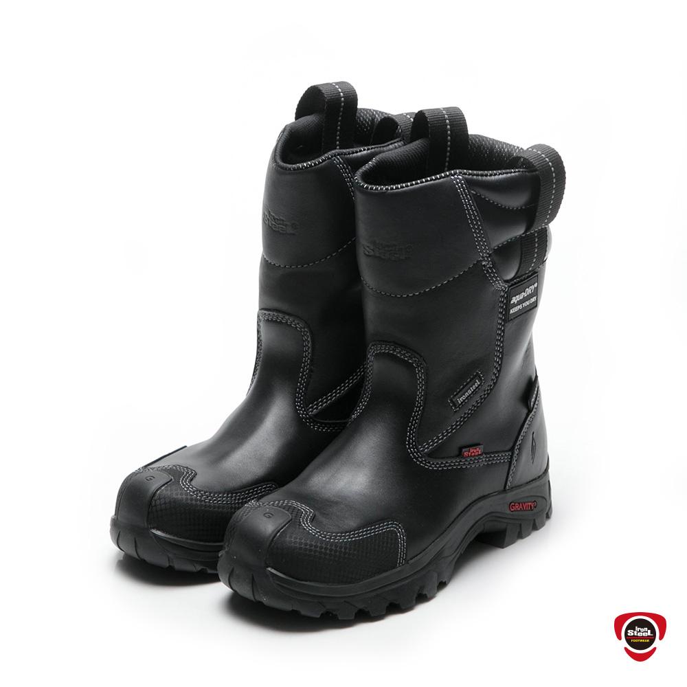 IronSteel T-1168 防水襪套高筒絕緣安全靴