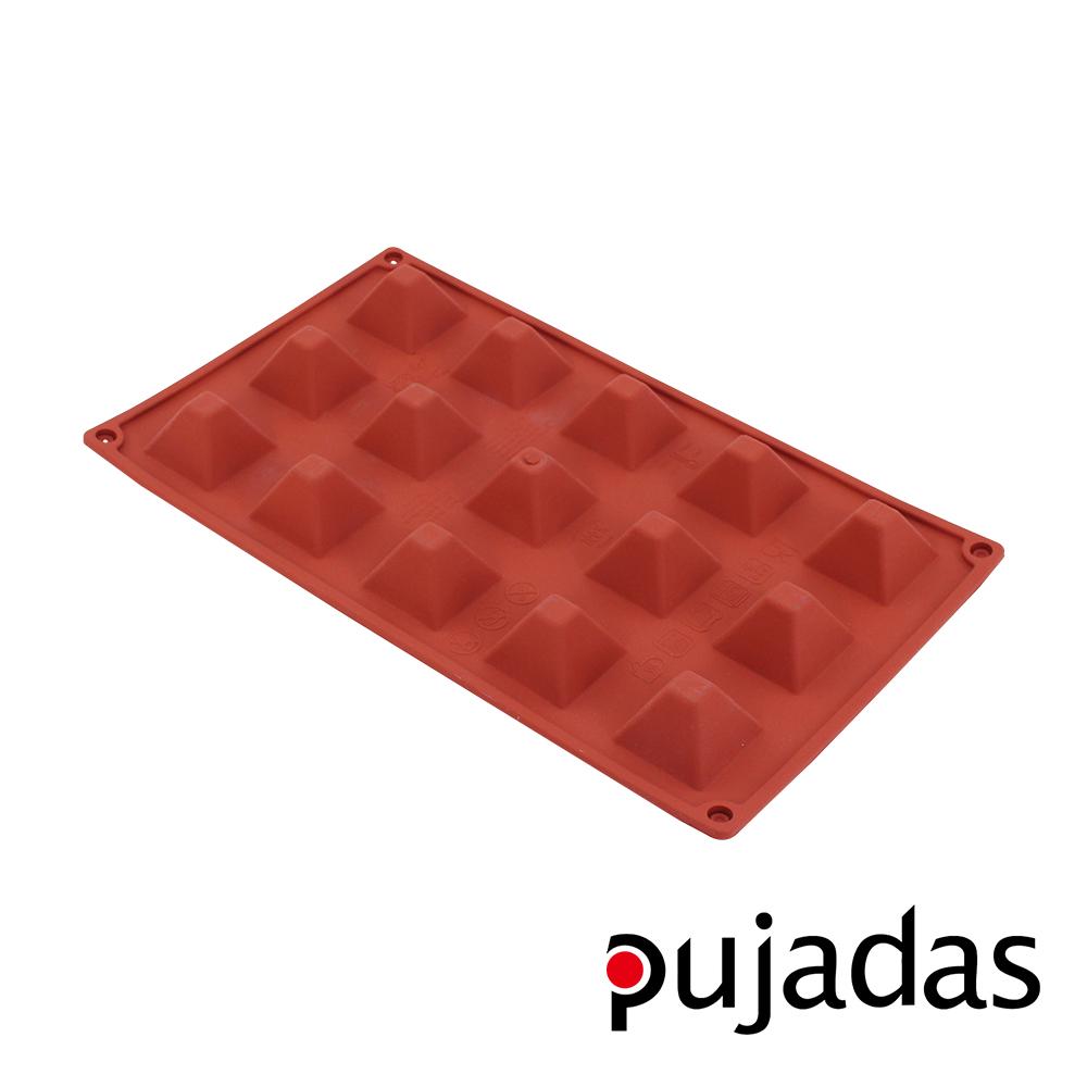 西班牙pujadas矽膠15格點心膜(金字塔型)