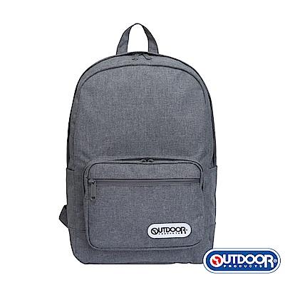 OUTDOOR- 極簡生活2.0系列-後背包-黑灰-OD49255GHS