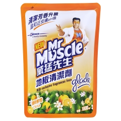 威猛地板清潔劑補充包1800ml-鮮橙
