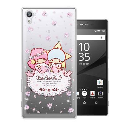 三麗鷗雙子星仙子 SONY Xperia Z5 Premium 水鑽系列手機殼(...