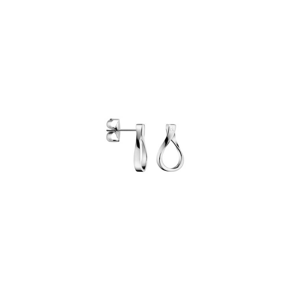 CALVIN KLEIN 精巧系列 耳針式耳環