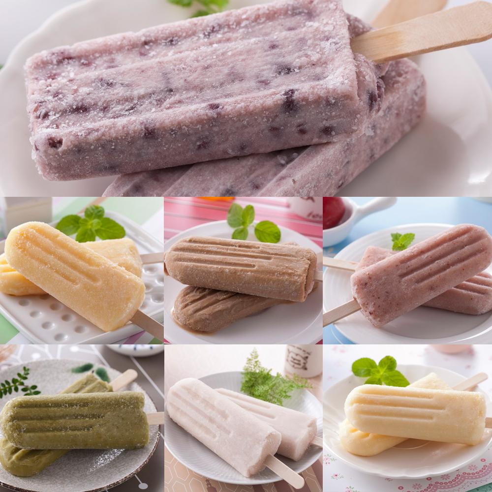 蘇澳農會夯一夏冰棒7種口味任選2盒(9入/盒)