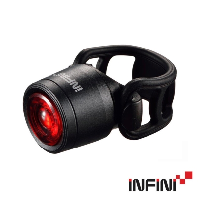 《iNFiNi》I- 270 R 紅光LED前燈  1 W 黑(共五色)