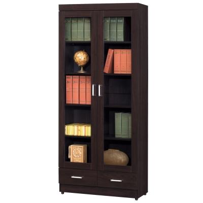 時尚屋 長榮2.6尺下抽書櫃 寬80cm 多色可選