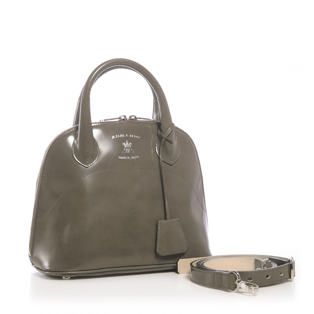 A.D.M.J. 珠光小牛革 BOSTON BAG (GRAY) product image 1