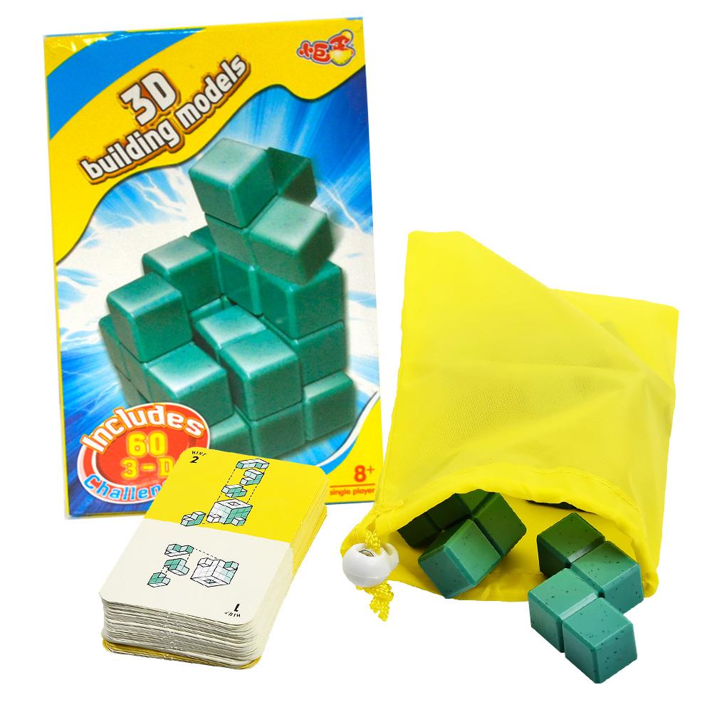 《凡太奇》益智桌遊-3D建築模型/索瑪立方塊 AY2042 - 快速到貨