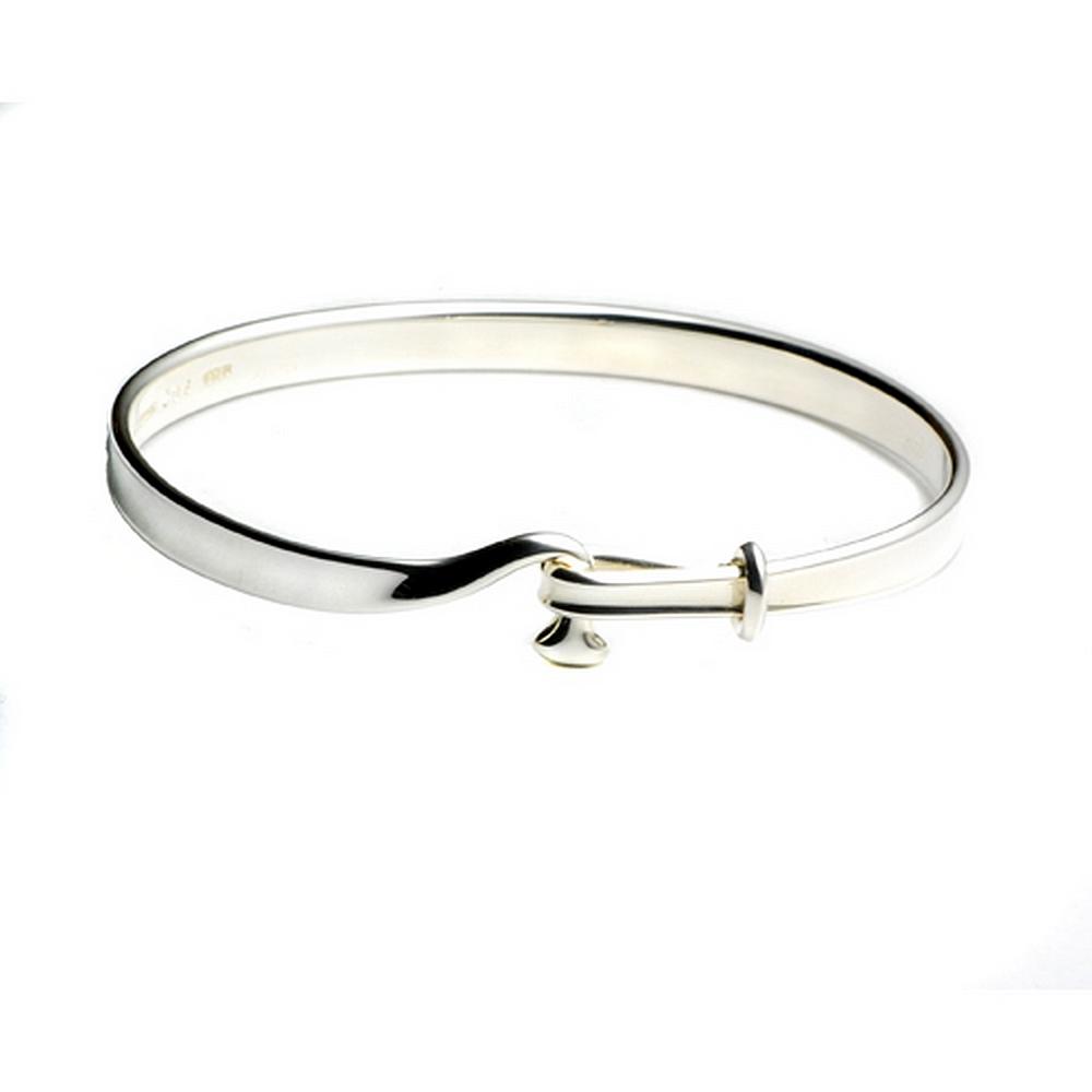 Georg Jensen #204 朵蘭設計 純銀手環