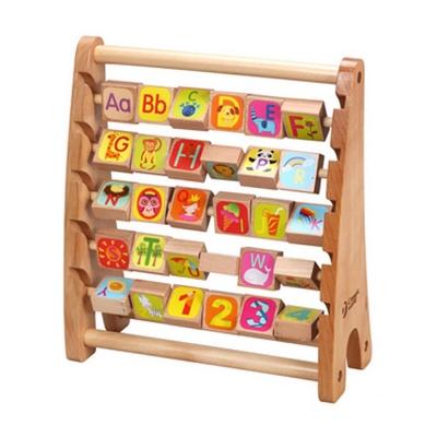 Classic World 德國經典木玩 木製字母翻板