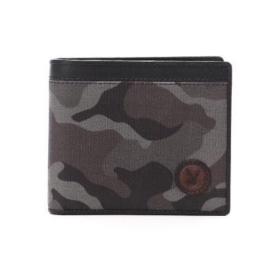 PLAYBOY- Camouflage 越野迷彩兔系列 短夾-迷彩黑