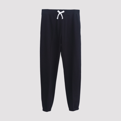 Hang Ten - 男裝 - 運動潮流素面直筒棉褲 - 黑
