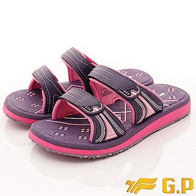 GP時尚涼拖-休閒舒適拖鞋款-SE559W-41紫(女段)