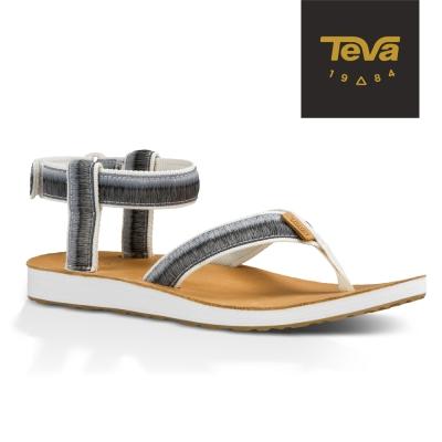 TEVA 美國-女 Original Sandal 經典緹花涼鞋 (漸層灰/白)