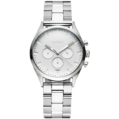 TAYROC  羅霸特三號時尚腕錶(TXM011G)-42mm