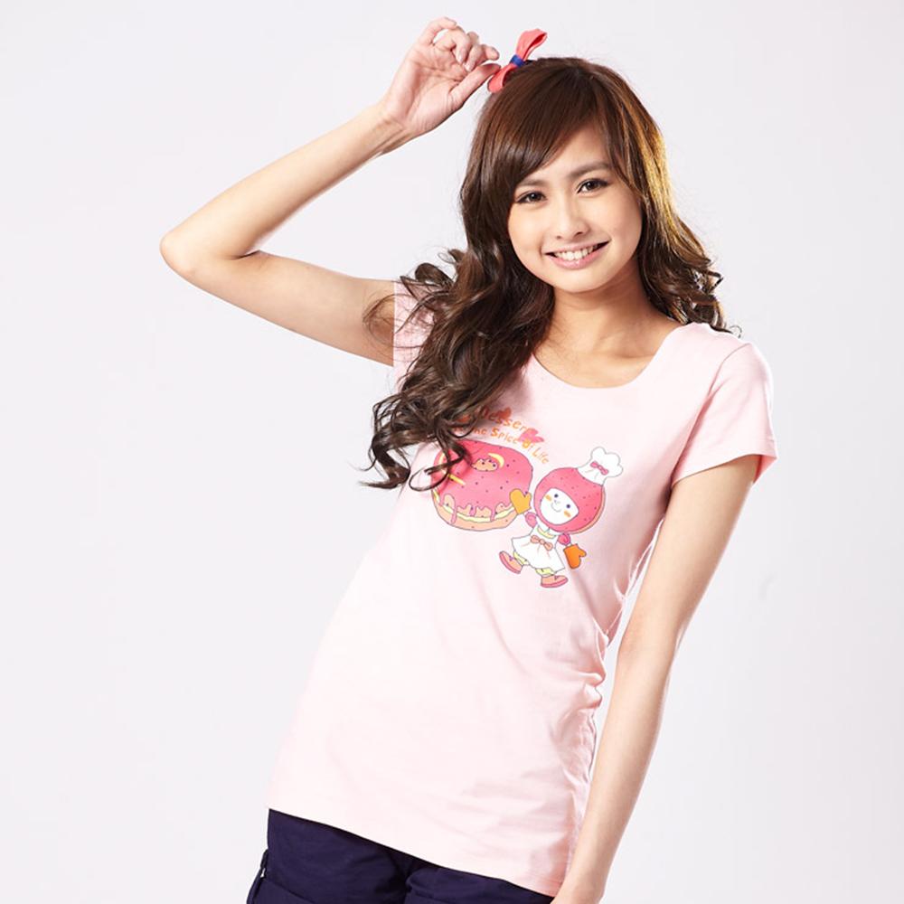 101原創 幸福甜心短袖T恤上衣-粉紅