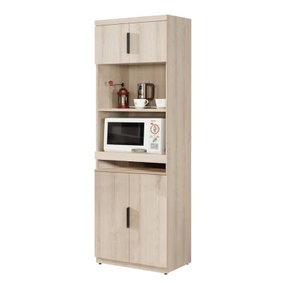 Boden-諾文2尺收納高餐櫃(兩色可選)-60x40x183cm