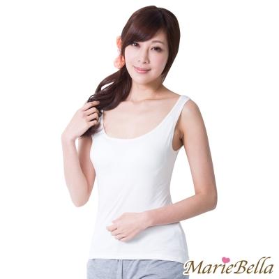 Bra Top 極致美型寬版背心(白) MarieBella
