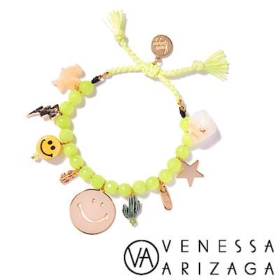 Venessa Arizaga HAPPY WEEKEND 螢光黃手鍊