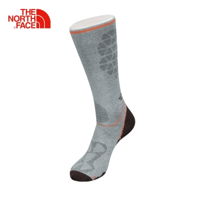 The North Face北面灰色舒適透氣戶外跑步訓練運動襪