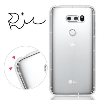 RedMoon LG V30 防摔氣墊透明TPU手機殼