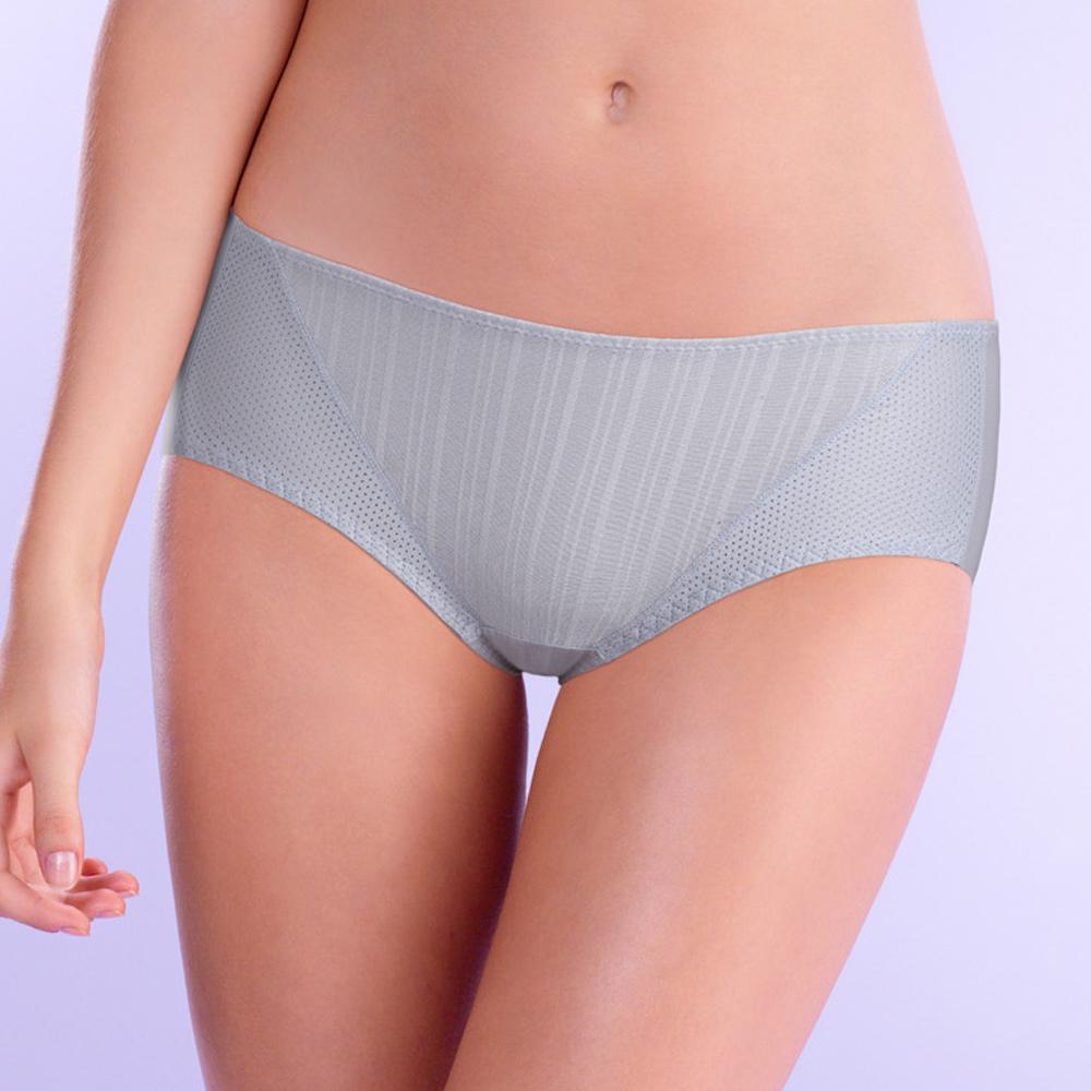 黛安芬-T-Shirt Bra系列平口內褲 M-EEL(竹炭暖灰)