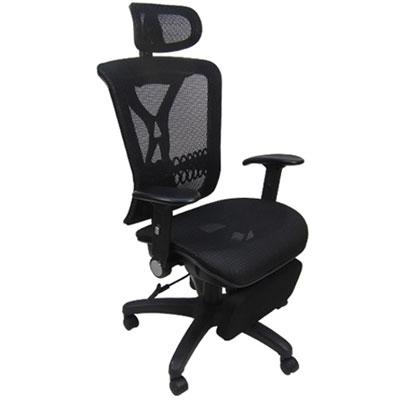 邏爵家具 摩西專利坐臥兩用全網椅/電腦椅/辦公椅/主管椅