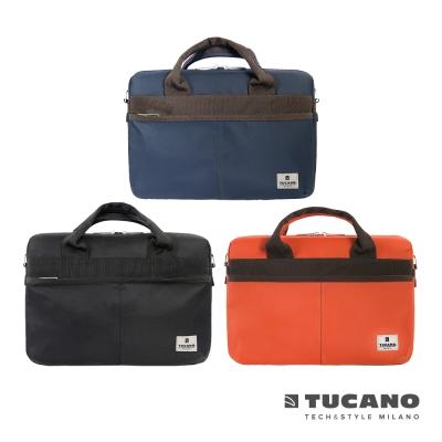 TUCANO Shine slim 薄型輕便手提肩背二用電腦包MB 13吋