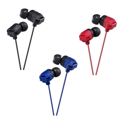 JVC立體聲耳道式耳機HA-FX102