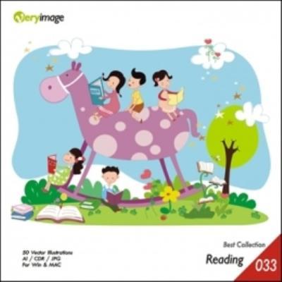 插畫嚴選集33-兒童閱讀