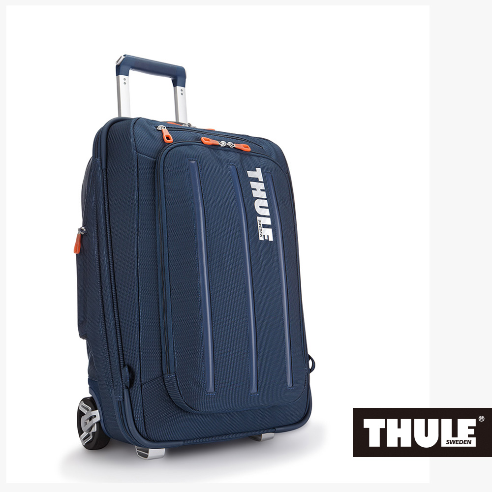 THULE-Crossover Carry22吋38L可背式行李箱TCRU-115-深藍