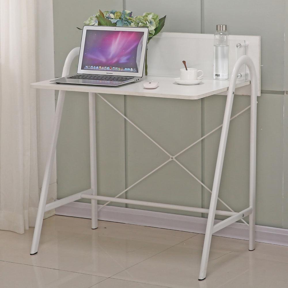 AT HOME - 米羅2.8尺白色書桌 85x57x74cm
