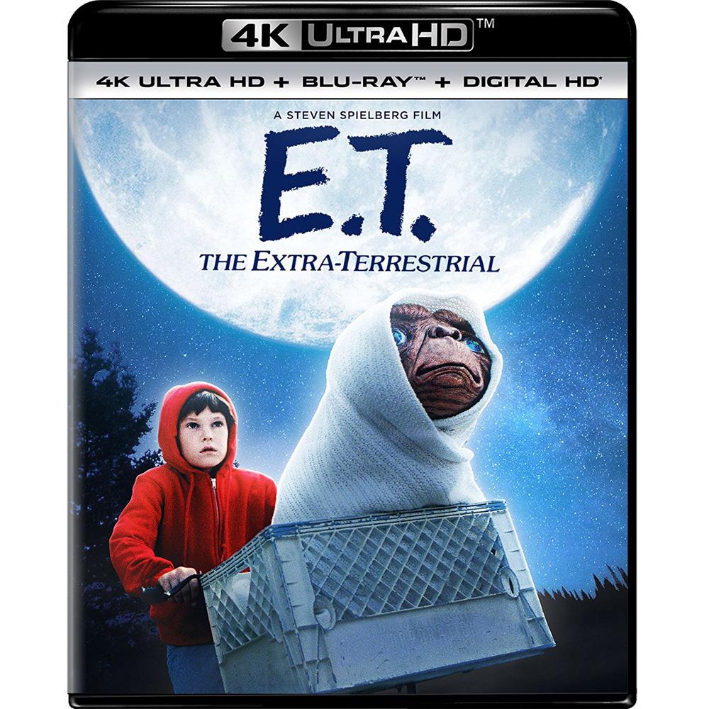 E.T. 外星人 ( 4K UHD + BD 雙碟版 )  藍光 BD