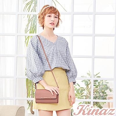 KINAZ 夢幻糖衣兩用斜背包-玫瑰粉-城市輕旅系列-快