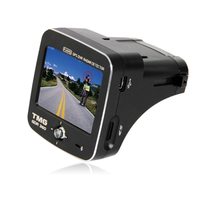 TMG GDR360 Full HD高畫質GPS雷達/雷射測速行車記錄器-快