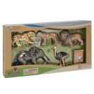 Wenno動物模型 動物系列 非洲野生動物5入 WAF06001