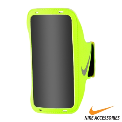NIKE 輕量手機萬用臂包 (綠/銀)