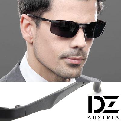 【2件59折】DZ 極速典範 抗UV 偏光太陽眼鏡墨鏡(酷黑)