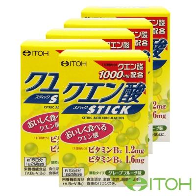 日本井藤ITOH 黃金力量元氣檸檬酸粉5盒