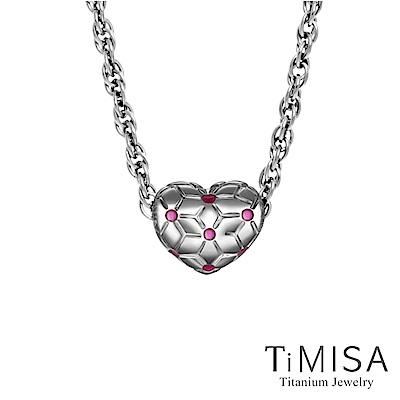 TiMISA 圓融 純鈦串飾 項鍊(SB)