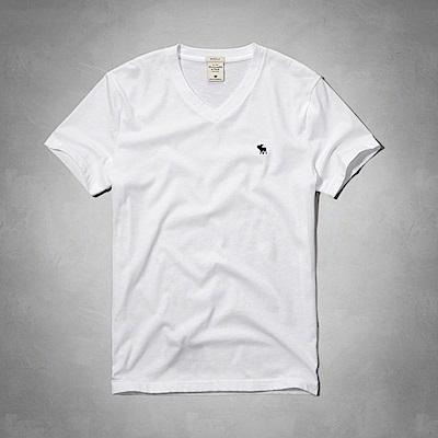 AF a&f Abercrombie & Fitch 短袖 T恤 白色 0613