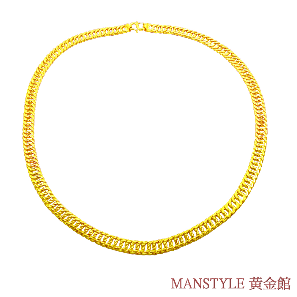 MANSTYLE 雙繕 黃金項鍊 (約10.10錢) product image 1